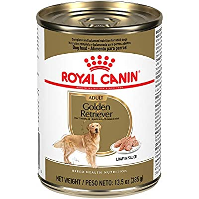 Royal Canin Breed Health Nutrition Golden Retriever Loaf in Sauce Dog Food