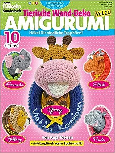 Simply Häkeln Fantastische Häkel Ideen Tierische Kissen Amigurumi