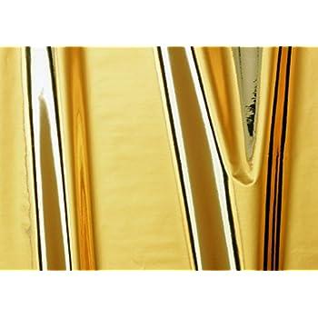 "d-c-fix 347-0004 Decorative Self-Adhesive Film, Glossy Gold, 17.71"" x 59"" Roll"