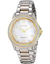 Drive from Citizen Eco-Drive Womens Watch with Swarovski Crystal Accents, EM0234-59D