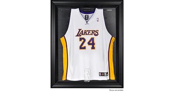 Amazon.com : Sports Memorabilia NBA Logo Black Framed Jersey Display ...