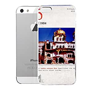 Case for iPhone 5/5s Operation Blue Star Operation Blue Star U2013 6th June 1984 U2013 A Black Day Of Sikh History by icecream design