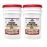 Augason Farms 30-Day Emergency Food Storage Supply Pail (2 pail)