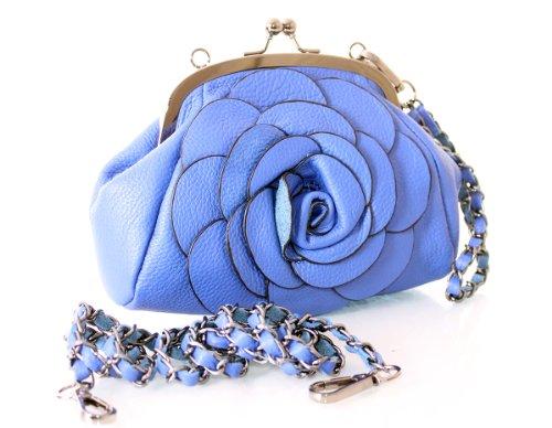 Charming Chics - Cartera de mano para mujer Talla única Azul
