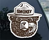 """Automotive : Smokey the Bear Firefighting WILDFIRE sticker decal (2"""" (2 Pack), Brown)"""