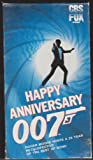 Happy Anniversary 007 [VHS]