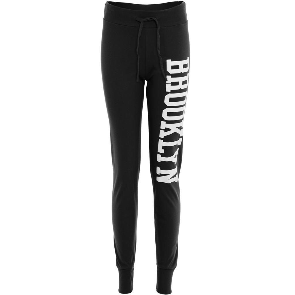 New Ladies Brooklyn Running Trousers Joggers Jogging Bottoms Tracksuit Pants8-18
