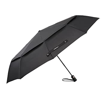 TOMSHOO 50 Inch Large Windproof Golf Umbrella Auto Open Close Compact Double Canopy Folding Travel Portable  sc 1 st  Amazon.com & Amazon.com: TOMSHOO 50 Inch Large Windproof Golf Umbrella Auto ...