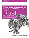 img - for Programming Rust: Fast, Safe Systems Development book / textbook / text book