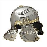 NAUTICALMART Roman Armor Helmet Roman Guard Warrior Medievaltimes
