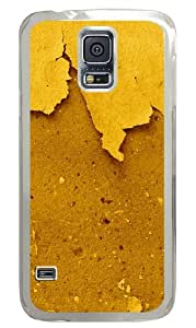 Samsung Galaxy S5 Case And Cover - Khaki Walls Custom Design Samsung Galaxy S5 Case Cover - Polycarbonate - Transparent