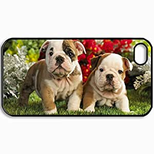 Customized Cellphone Case Back Cover For iPhone 4 4S, Protective Hardshell Case Personalized Design Nature Design Black