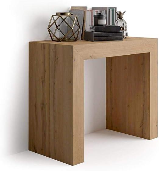 Mobilifiver Mesa Consola Extensible, Modelo Angelica, Color Madera ...