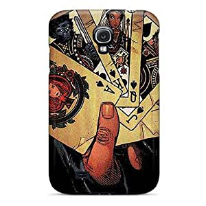 Hot Design Premium SHeJfGV2787izTHe Tpu Case Cover Galaxy S4 Protection Case(gambit I4)
