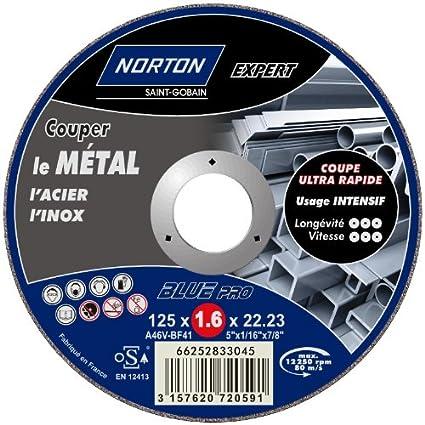 Norton Expert - Disco de corte fino para metal y acero ...