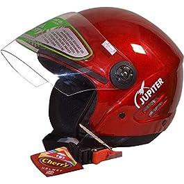 Cherry (ISI Certified) Open Face Modular Motorbike Helmet