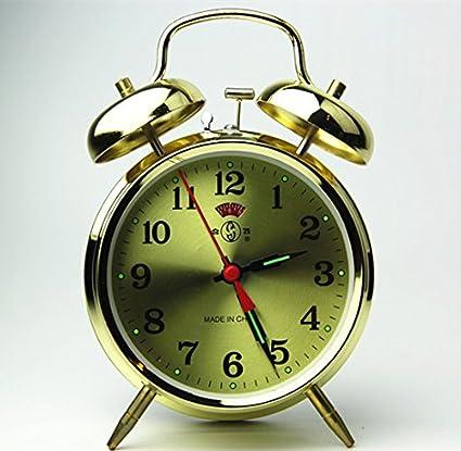 Amazon Com Mechanical Alarm Clock Wind Up Retro Vintage Metal