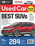Consumer Reports Used Car Magazine August 2019