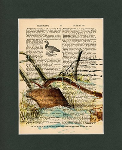 Vintage Dictionary Art Print-Plow in the Snow by Sun City Art