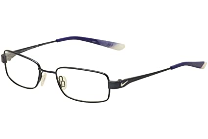 6060cdfe9336 Amazon.com: Eyeglasses NIKE 4637 427 BLUE/PURE PLATINUM: Sports ...