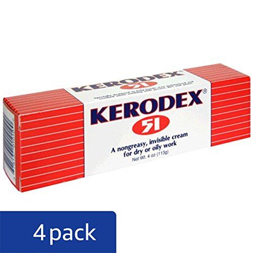 Medtech Products Kerodex 51 for Dry or Oily Work, Cream, 4 oz (113 g) (Pack of 4) by Kerodex (Image #1)