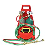 oxy acetylene rosebud - Xtremepowerus Professional Tote Oxygen Acetylene Oxy Welding Cutting Torch Kit Victor W Tank