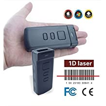 Afanda NEW Mini Laser Ct30 Built-in Memory Portable Wireless Bluetooth Barcode Scanner Support Windows/android/iphone/ipad/tablet Pc