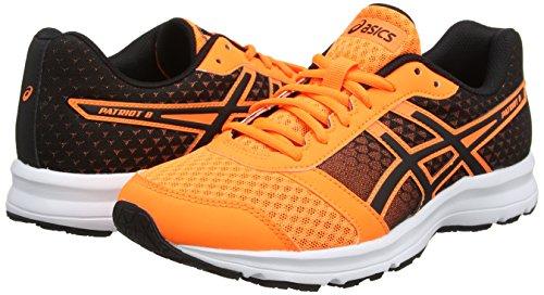 Pour Course Hommes Blanc De Vif 8 Patriot orange Orange Noir Chaussures Asic RqB4CX4