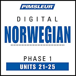 Norwegian Phase 1, Unit 21-25 Hörbuch