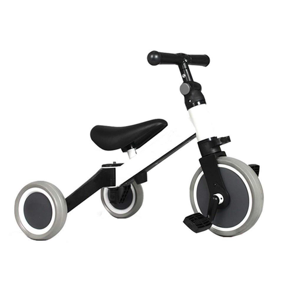 ahorra hasta un 30-50% de descuento Triciclos Triciclos Triciclos Triciclo Infantil Trike Toddler Bike Strollers Para Niños Smart Trike Desmontable Antideslizante Rueda Delantera Pedal De Pie Trike Con Barra De Empuje De Padres 3 Colors ( Color   blanco )  alta calidad general