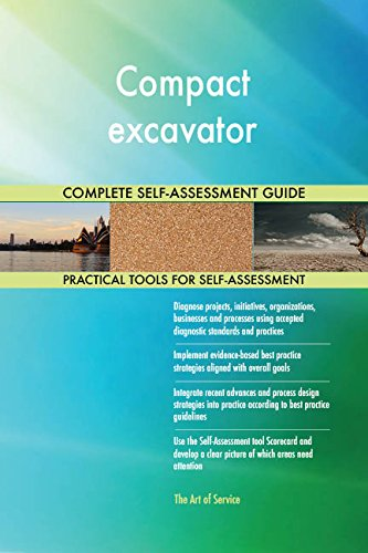 Compact excavator Toolkit: best-practice templates, step-by-step work plans and maturity diagnostics