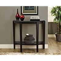 Cappuccino 36L Hall Console Accent Table