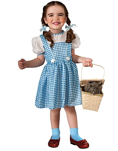 Toddler Wizard of Oz Dorothy Costume,Blue,Infant -