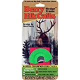 Berry Game Calls Wedge Frame CrissCross Triple Reed Elk Call