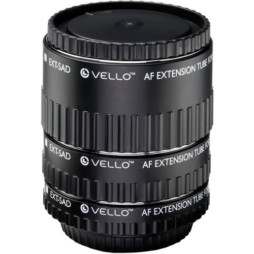 Vello Auto Extension Tube Set for Sony Alpha by VELLO (Image #1)