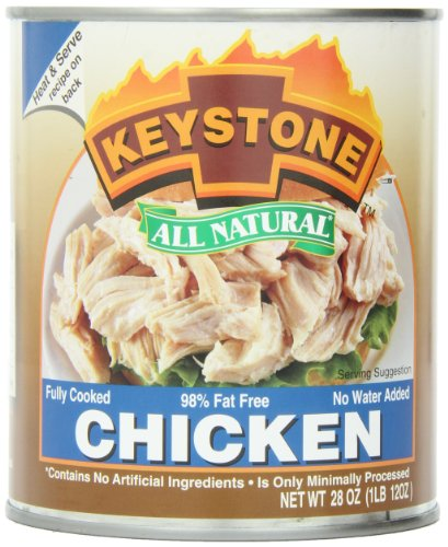 Keystone Meats All Natural Canned Chicken, 28 - Store Keystone