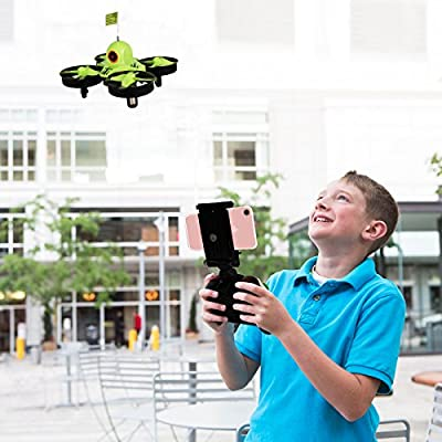 Reikirc R36HW FPV RC Drone with 480P HD Wi-Fi Camera Live Video Feed 2.4GHz 6-Axis Gyro Quadcopter for Kids & Beginners - Altitude Hold, One Key Start,,Bonus Battery from Reikirc