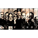"""Slipknot Fabric Cloth Rolled Wall Poster Print -- Size: (24"""" x 13"""")"""