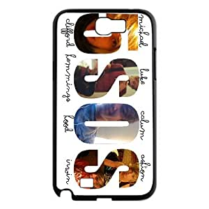 New arrival 5sos band Fans Hard Plastic phone Case for Samsung Galaxy Note 2 N7100 Case Cover RCX076777