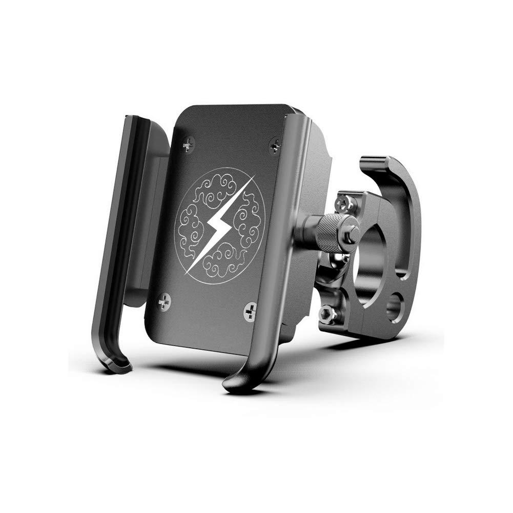 Yililay Fahrrad-Telefon-Halter-Aluminium-Legierung Lenker Telefonhalterung Drehbare Telefon Cradle Clamp Adjustable-Telefon-Einfassung