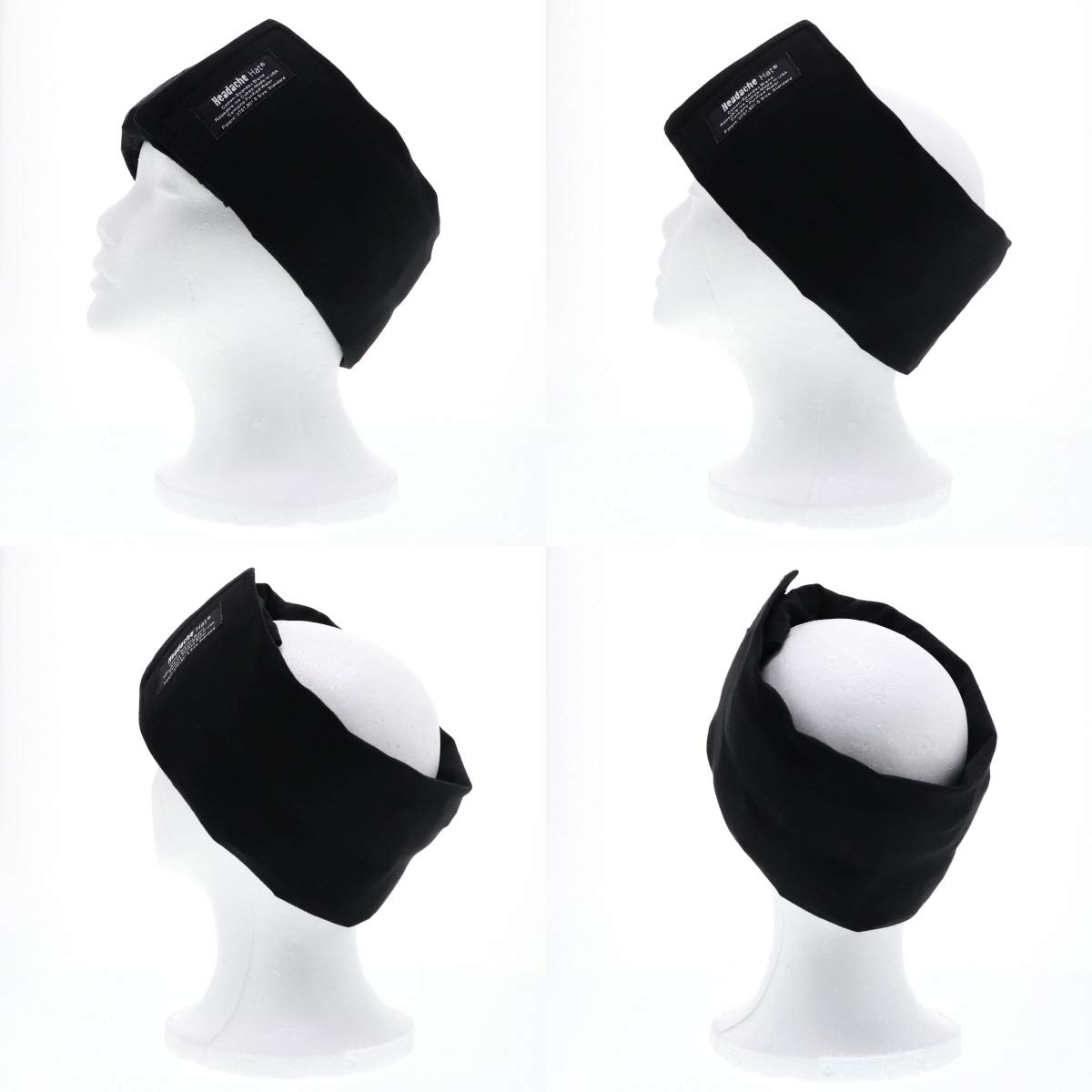 Headache Hat - The Original Wearable Ice Pack for Migraine Headaches and Tension Relief - Regular Size by Headache Hat