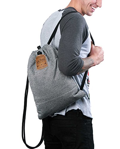 LOCTOTE Flak Sack - The Original Theft-Resistant Drawstring Backpack | Anti-theft | Theft-Proof Travel Backpack | Lockable | Slash-Resistant by LOCTOTE (Image #5)