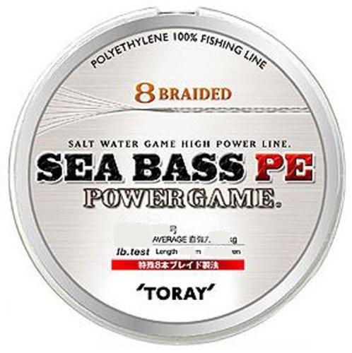 東レ(TORAY) ライン シーバスPE POWER GAME 150m 18lb/1号 ホワイトの商品画像