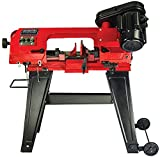 General International General Intl BS5205 4.5″ 5A Metal Band Saw, Red, Black & Gray For Sale