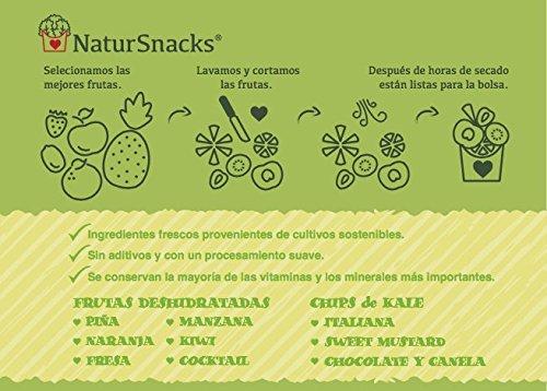 Manzana deshidratada natural bolsa familiar (2x250gr): Amazon.es: Alimentación y bebidas