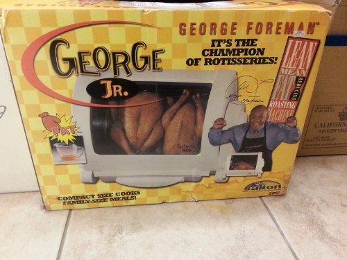 George Foreman GR82B George Jr. Rotisserie by George Foreman (Image #2)