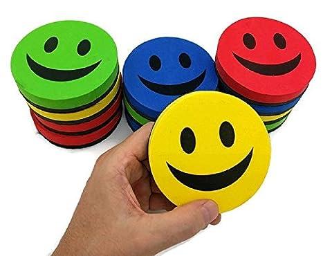 KIBOO 12-Pack Smile Face 3.75