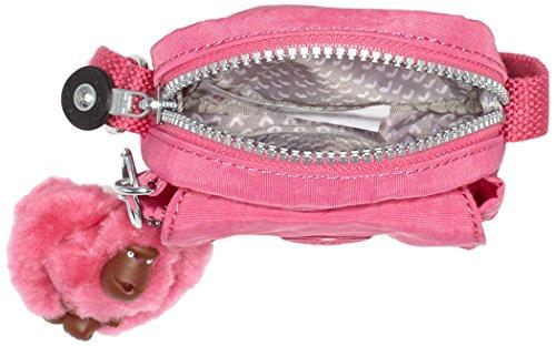 Kipling Teddy, Bolsos de Mano y Hombro Unisex Niños Rosa (77H Carmine Pink)