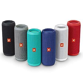 Jbl Flip 4 Waterproof Portable Bluetooth Speaker (Gray) 5