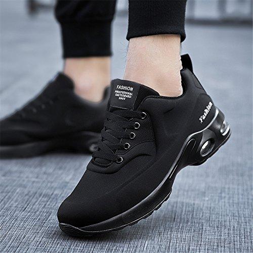 Formateur Absorbant Cours Chocs Chaussures 7 Air Fitness Gym Les Unisexe En Sports D'excution Black Formateurs Jogging Lgres Course Kashiwu De YXf4qCnxv